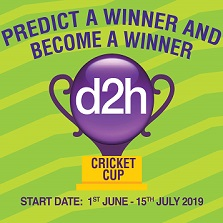 d2h launches 'd2h Cricket Cup' for Cricket Enthusiasts