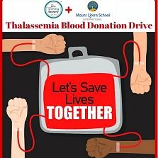 Mount Litera School International organizes blood donation drive for Thalassemia patients
