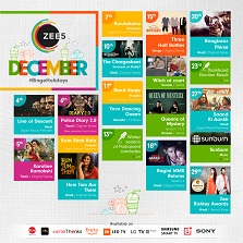 ZEE5 unveils their December - binge holiday calendar