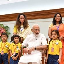Kidzee celebrates Raksha Bandhan with PM Shri Narendra Modi