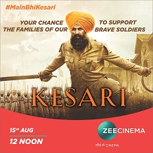 This Independence Day, be a part of Zee Cinema's #MainBhiKesari initiative