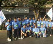 ZEE at the Mumbai Marathon 2012
