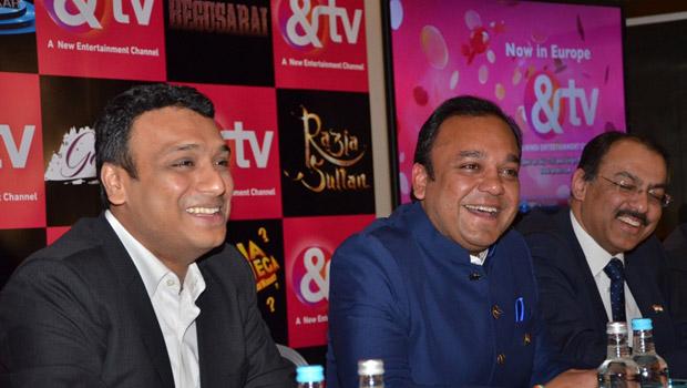 CEO Puneet Goenka at the &TV UK Launch
