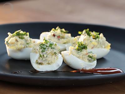 Devilled Eggs - Quick & Easy Egg Recipe