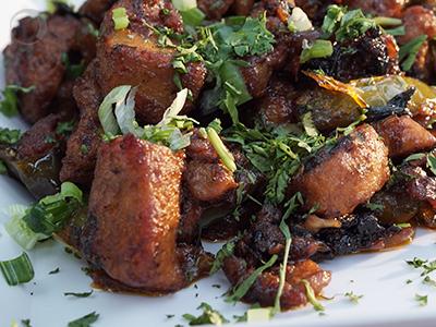Chilli Chicken - Restaurant Style Chicken Starter