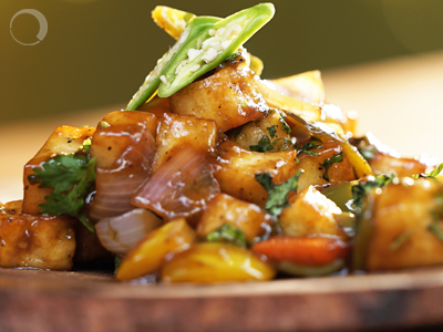 Chilli Paneer – Move over Chilli Chicken – The vegetarians are here!