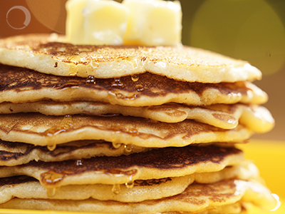 Pancakes – Because no one ever hated a good breakfast!