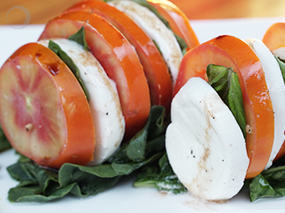 Caprese Salad – An Italian Love Affair!