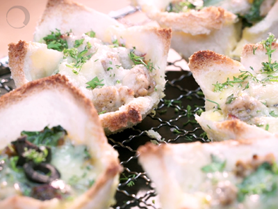 Toasted Quiche Cups – For a cupful of taste!
