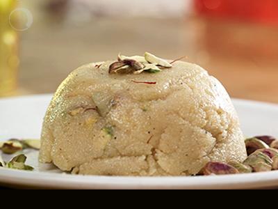 Rava Sheera - Breakfast that is also a dessert