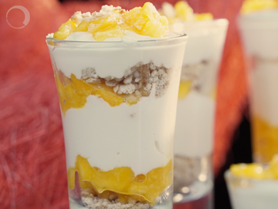 Mango Cheesecake Shots are the next must-have recipe!