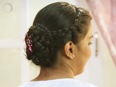 Bridesmaid Bun – When the bridesmaid steals the show
