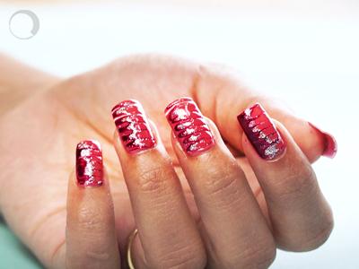 Sparkling Nail Art