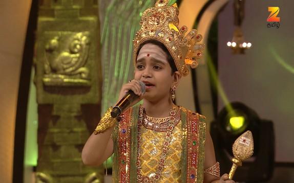 Sa Re Ga Ma Pa Lil Champs - Tamil Ep 14 5th February 2017