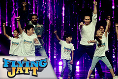 A Flying Jatt Title Track - Junior Flying Jatts