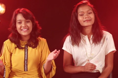 The Voice India Kids | Sau Aasmaan Cover | Jingbhabok Mylliem Ft. Nishtha Sharma