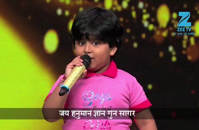 5 Years old boy singing Hanuman Chalisa |Promo|Sa Re Ga Ma Pa Li'l Champs|Sat-Sun, 9 PM