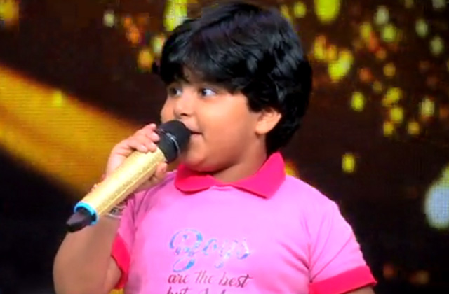 5 Years old boy singing Hanuman Chalisa | Sa Re Ga Ma Pa Li'l Champs | Sat-Sun, 9 PM