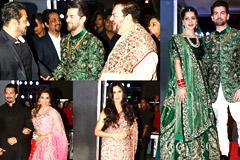A Star Studded Reception For Neil Nitin Mukesh & Rukmini Sahay