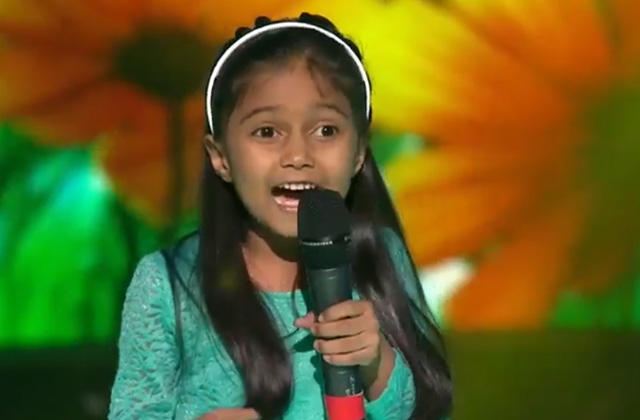 Aashi Singh Sings Aashiyan The Voice India Kids Season 2 - November 11, 2017 | &(AndTv)