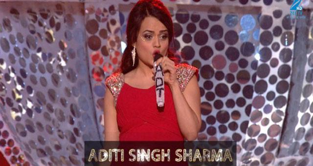 Aditi Singh Sharma performs on 'Darling Ankhon Se Ankhen Char' song - MMA 2017