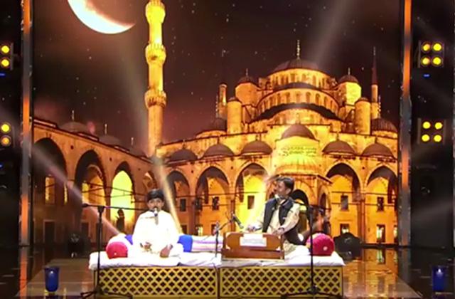Adnan & His Father Asif Iqbal Hussain Sing Qawwali Aaya Tere Dar Par Deewana (Eid Special Performance) - Sa Re Ga Ma Pa Lil Champs 2017 - June 25,2017  |ZEETV