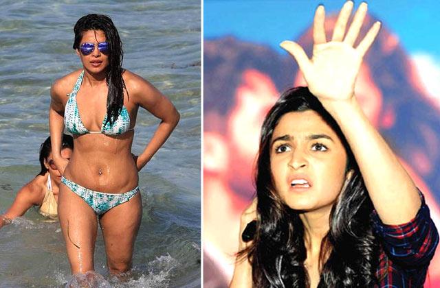 Alia Bhatt AVOIDS Questions On Priyanka Chopra