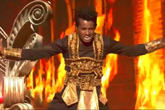 Alphons's Hip Hop, B-boying Dance Style Performance On Malhari Song Dance India Dance 2017 - November 18 | ZEETV