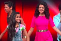 Anshika Chinkar & Coaches Show Their Garba Moves On-stage   The Voice India Kids - Season 2   Ep 3