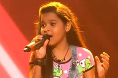 Anshika Chonkar Sings Har Kisiko Nahi Milta Song The Voice India Kids Season 2 - November 18, 2017 | &(AndTv)