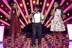 Anushka Patre, Shivansh & Enashree Roy Sings Gulaabo Songs The Voice India Kids Season 2 - December 10, 2017 | &(AndTv)
