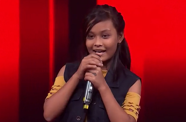 Anushka Sinha Sings Allah Hoo Allah Hoo The Voice India Kids Season 2 - December 9, 2017 | &(AndTv)