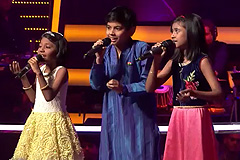 Arya, Ishaan & Tanishka Sarkar Sings Piya Bawri Piya Bawri Song The Voice India Kids Season 2 - December 10, 2017 | &(AndTv)