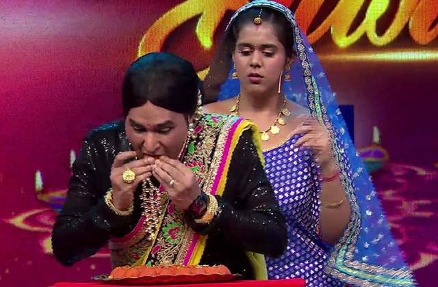 Badho Vs Fuljhadi: Laddoo Eating Competiton