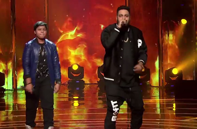 Badshah Raps With Bhanu Pratap Singh | Moment | The Voice India Kids - Season 2