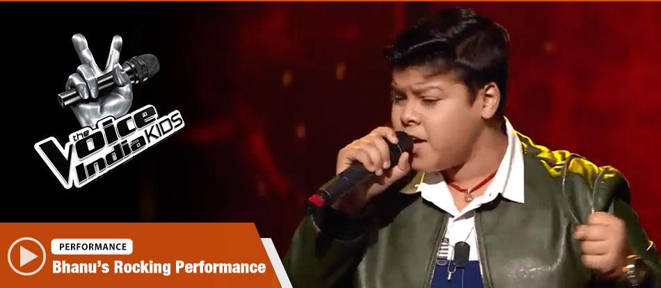 Bhanu Pratap Singh Sings Jee Karda | The Voice India Kids Season 2 - January 21, 2018 | &(AndTv)