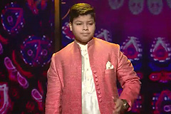 Bhanu Pratap Sings Deva Shree Ganesha | The Voice India Kids Season 2 - December 30, 2017 | &(AndTv)