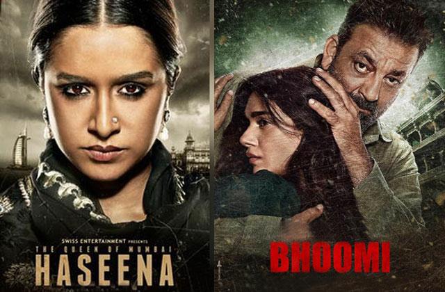 Bhoomi, Haseena Parkar Movie Review