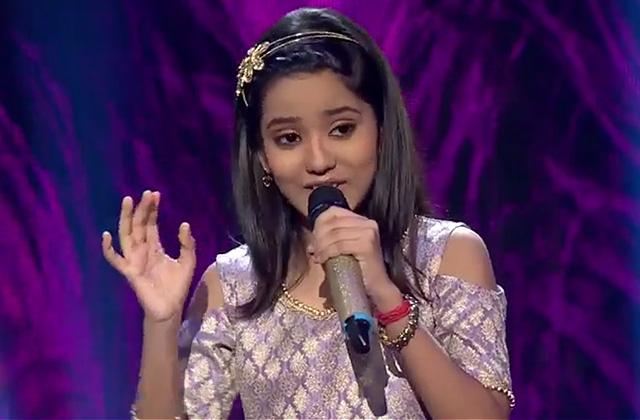 Bidipta Chakraborty Sing Kanha Soja Jara Sa Re Ga Ma Pa Lil Champs 2017 - August 12, 2017 | ZEETV