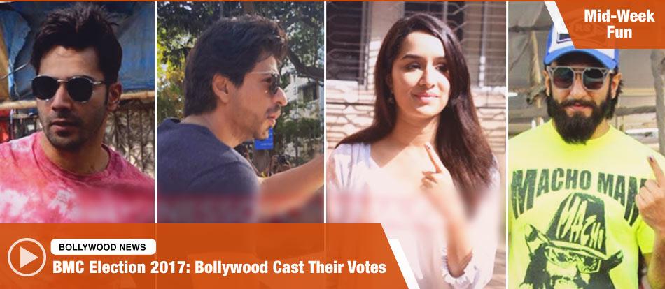 BMC Election 2017: Bollywood Cast Their Votes