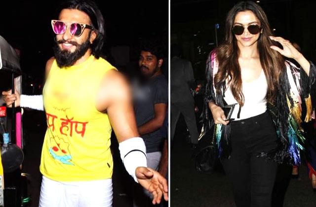 Celeb Spotting: Amitabh Bachchan, Deepika Padukone, Ranveer Singh & More