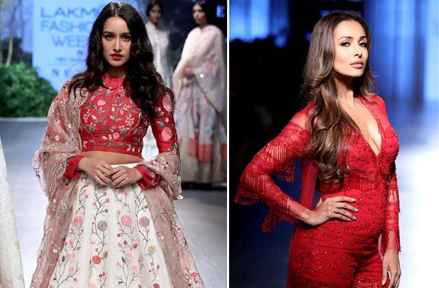 Celebs Rock The Lakme Fashion Week
