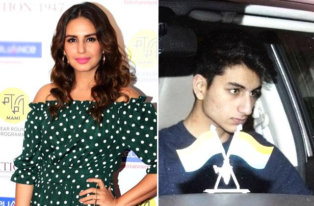 Celebs Spotting: Sara & Ibrahim Ali Khan, Huma Qureshi