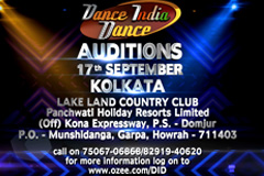 Dance India Dance - Auditions | 17th September, at Kolkata