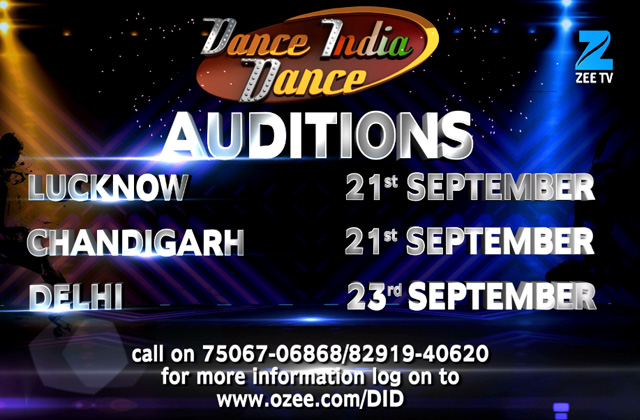 Dance India Dance - Auditions | Lucknow, Chandigarh & Delhi