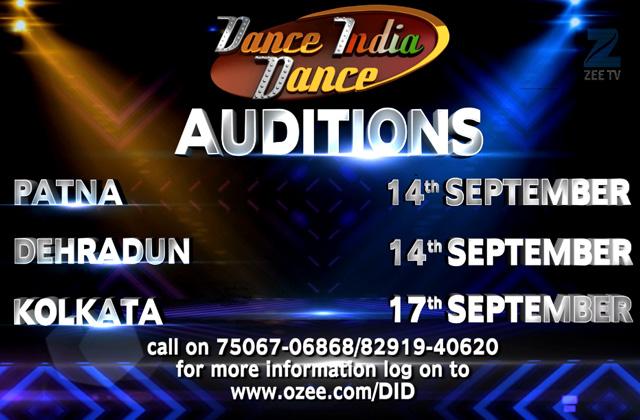 Dance India Dance - Auditions | Patna, Dehradun & Kolkata