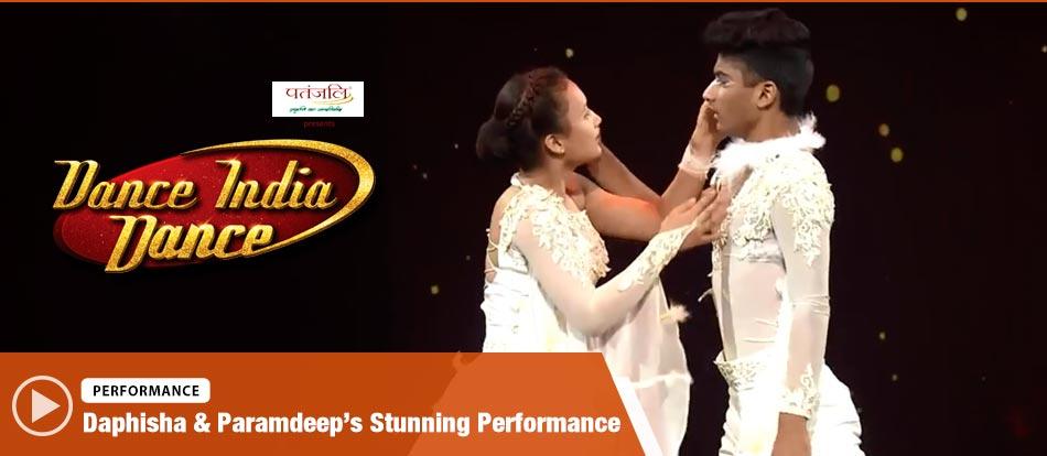 Daphisha & Paramdeep's Contemporary Style Performance on Song Ye Haseen Wadiyan Song Dance India Dance 2017 - December 9 | ZEETV