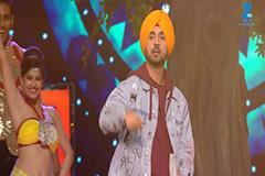 Diljit Dosanjh and Anushka Sharma Performs on 'Phillauri Movie' song - MMA 2017