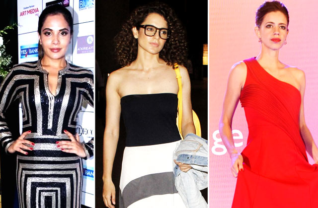 Diva Alert! Richa Chadda, Kangana Ranaut & Kalki Koechlin's Day Out