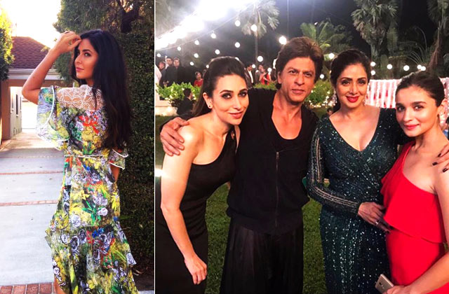 Diva Alert: Katrina's Hollywood dreams, SRK's band of girls & more